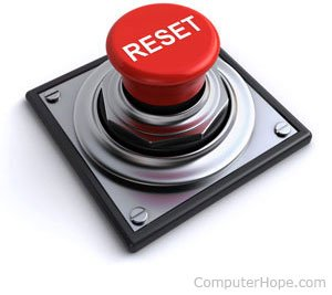 rest button